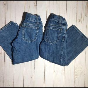 2 Pair Boys Bootcut Jeans